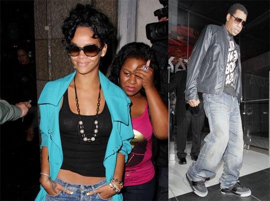 Rihanna and Jay-Z