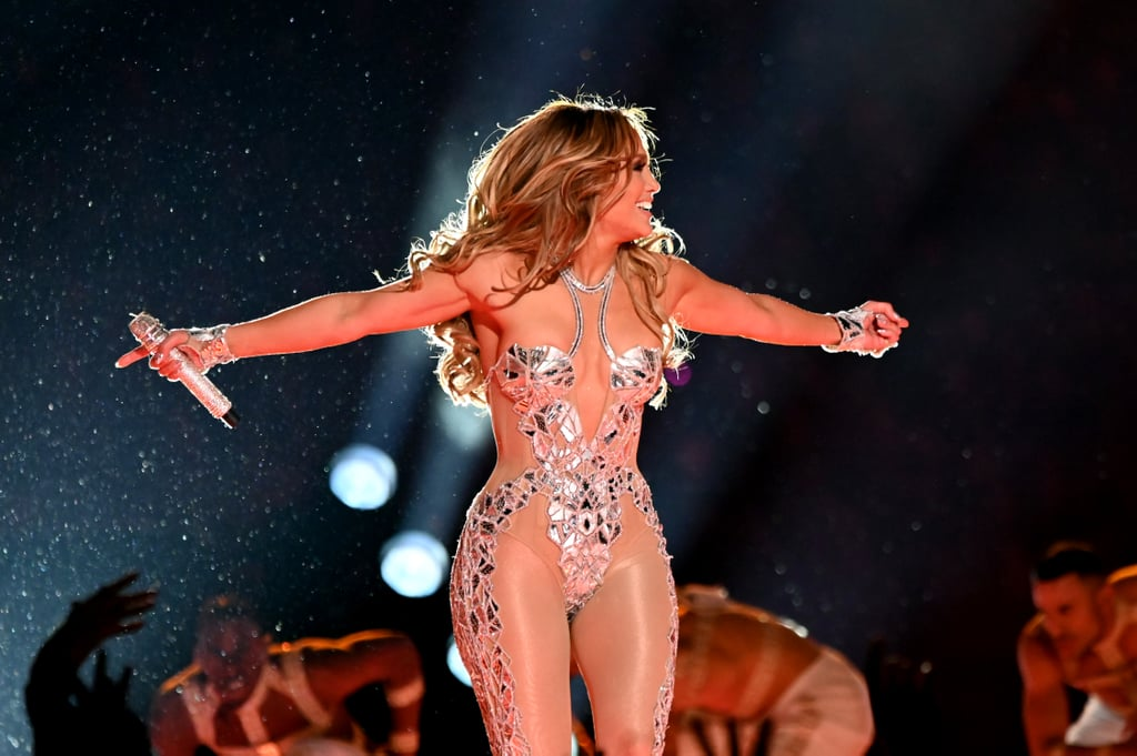 J Lo Hair Flip Before the Super Bowl Half Time Show