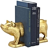 Your favorite book lover might already have bookends on her shelf,  but these gold pig ones ($30) aren't just any old set.
