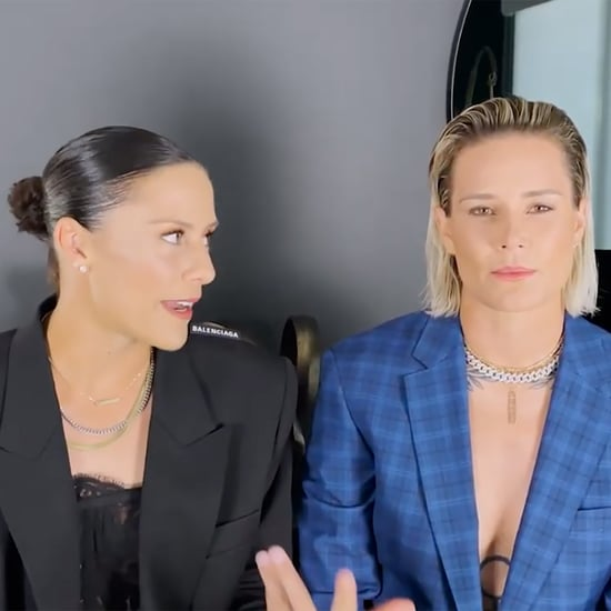 Ashlyn Harris, Ali Krieger on Trans Athletes at GLAAD Awards