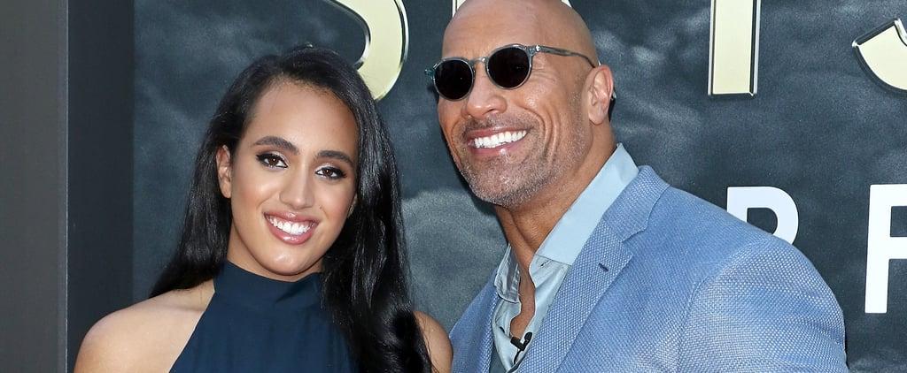 The Tonight Show: Dwayne Johnson Talks Daughter Joining WWE