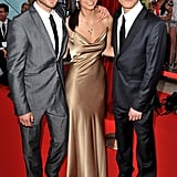 Ian Somerhalder, Nina Dobrev, and Paul Wesley made the trip to Monte Carlo in June 2010 for the city's 50th Monte Carlo TV Festival closing ceremony.