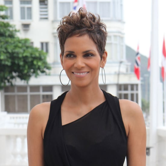 Pregnant Halle Berry in Rio | Photos
