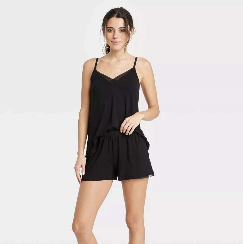 Little Black Number: Stars Above Cami and Shorts Pajama Set