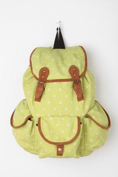 Carrot tri-pocket backpack