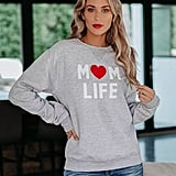 Vici Collection Mom Life Crewneck Sweatshirt