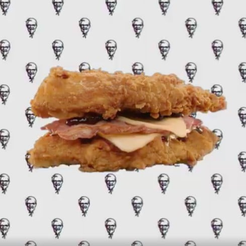 KFC Double Down Launches in UK
