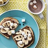 Chocolate Marshmallow Banana Toast