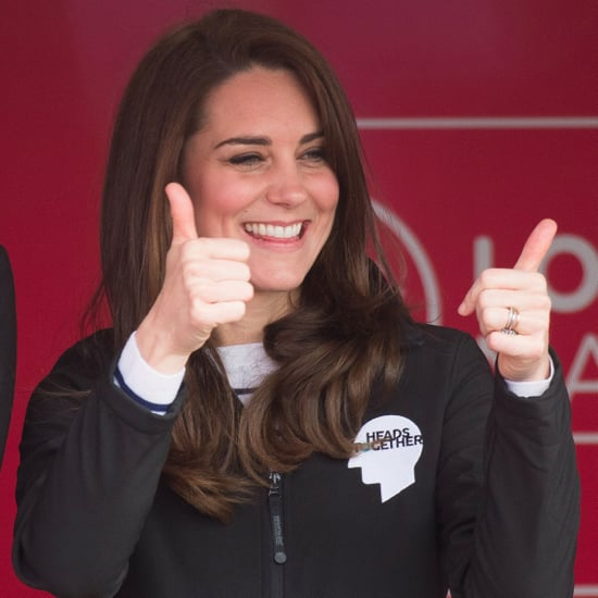 The Duchess of Cambridge Wears Superga Trainers