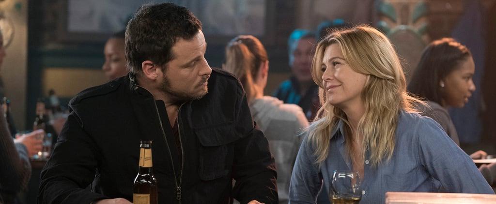 Meredith and Alex's Friendship on Grey's Anatomy