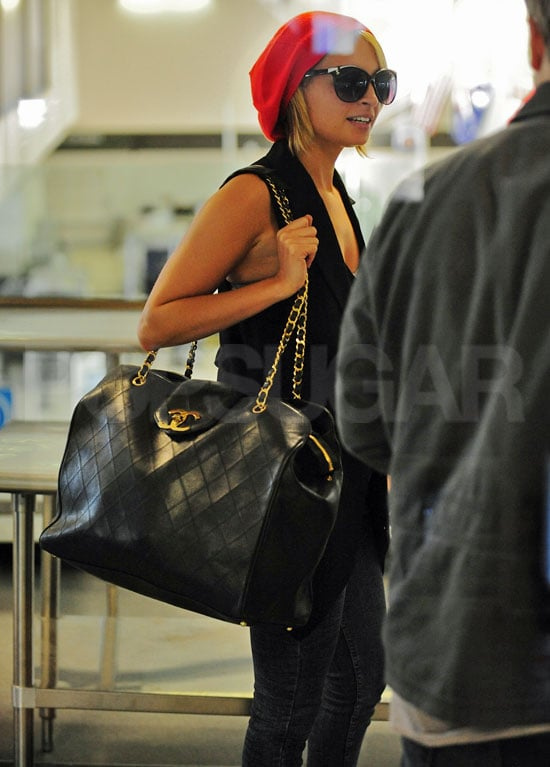 Pictures Of Nicole Richie Departing Out Of Lax With A