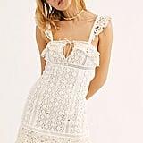 Cross My Heart Mini Dress