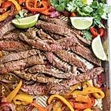 Sheet Pan Fajitas With Steak