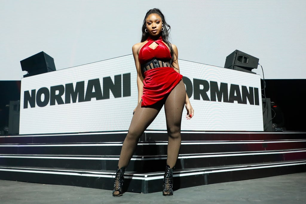 Normani's Red Nail Polish Color