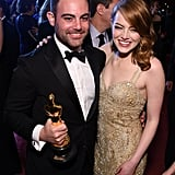 Pictured: Emma and Spencer Stone