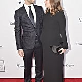 Natalie Portman's Baby Bump Is Front and Center During Her Night Out With Benjamin Millepied