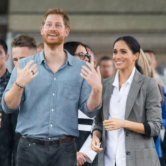 Prince Harry Black Ring on Royal Tour in Australia 2018