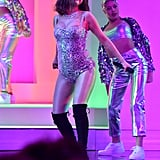Selena Gomez Debuted New Thigh Tattoo at the AMAs
