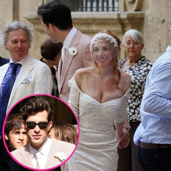 See Photos From Mark Ronson's French Wedding!