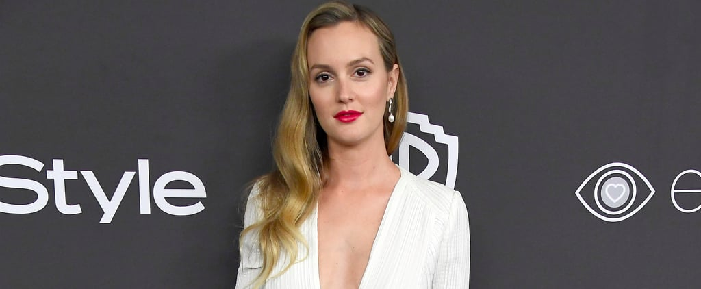 Leighton Meester on Not Talking About Her Daughter
