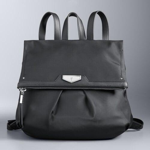 Simply Vera Black Backpack
