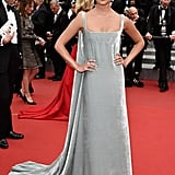 Alicia had a velvet Valentino moment for the premiere of Macbeth at the 68th annual Cannes Film Festival in May.