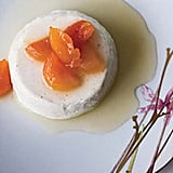 Greek Yogurt Panna Cotta With Honey Glazed Apricots