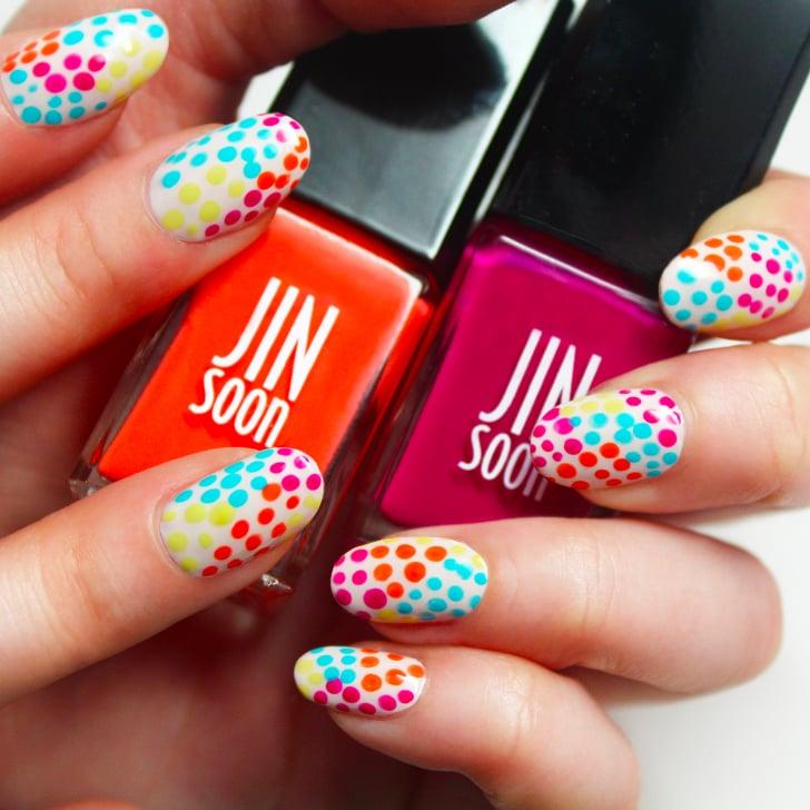 Polka dot nail art popsugar beauty prinsesfo Choice Image