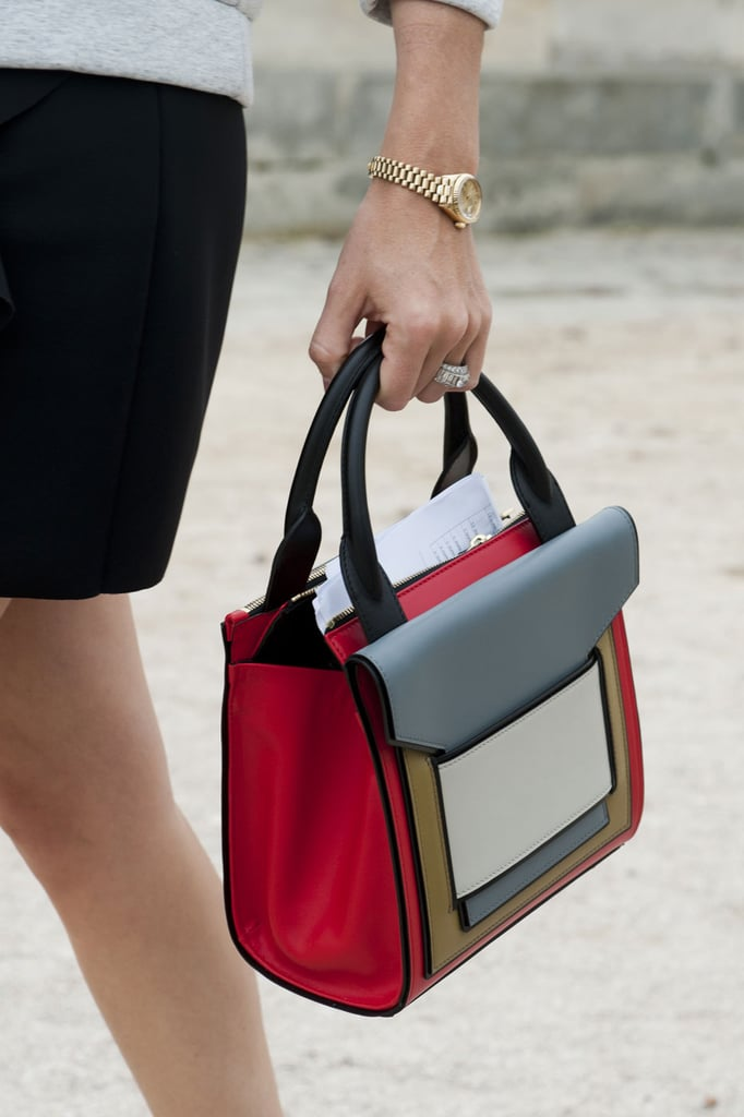 Joanna Hillman's bag was a bright spot at the shows.