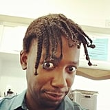New Girl star Lamorne Morris tried out a new hairstyle. Source: Instagram user lamorne