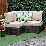 Longshore Tides Boyce Outdoor Patio Sectional With Cushions