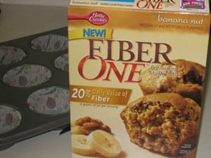 Review of Fiber One Banana Nut Muffin Mix