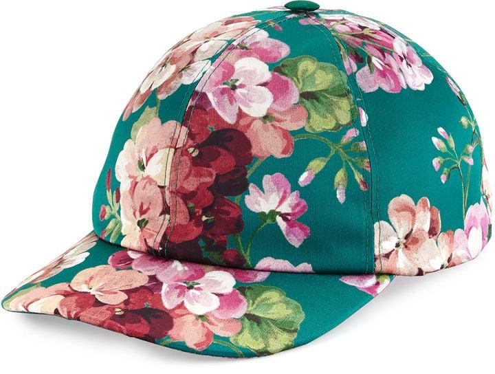 Gucci Floral Satin Baseball Cap ( 455)  7fce9fba0e7