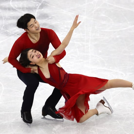 "Maia and Alex Shibutani Ice Dancing to ""Paradise"""