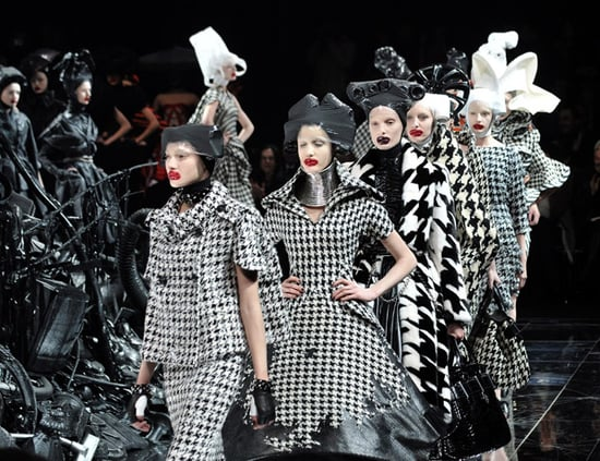 Paris Fashion Week, A/W 2009: Alexander McQueen