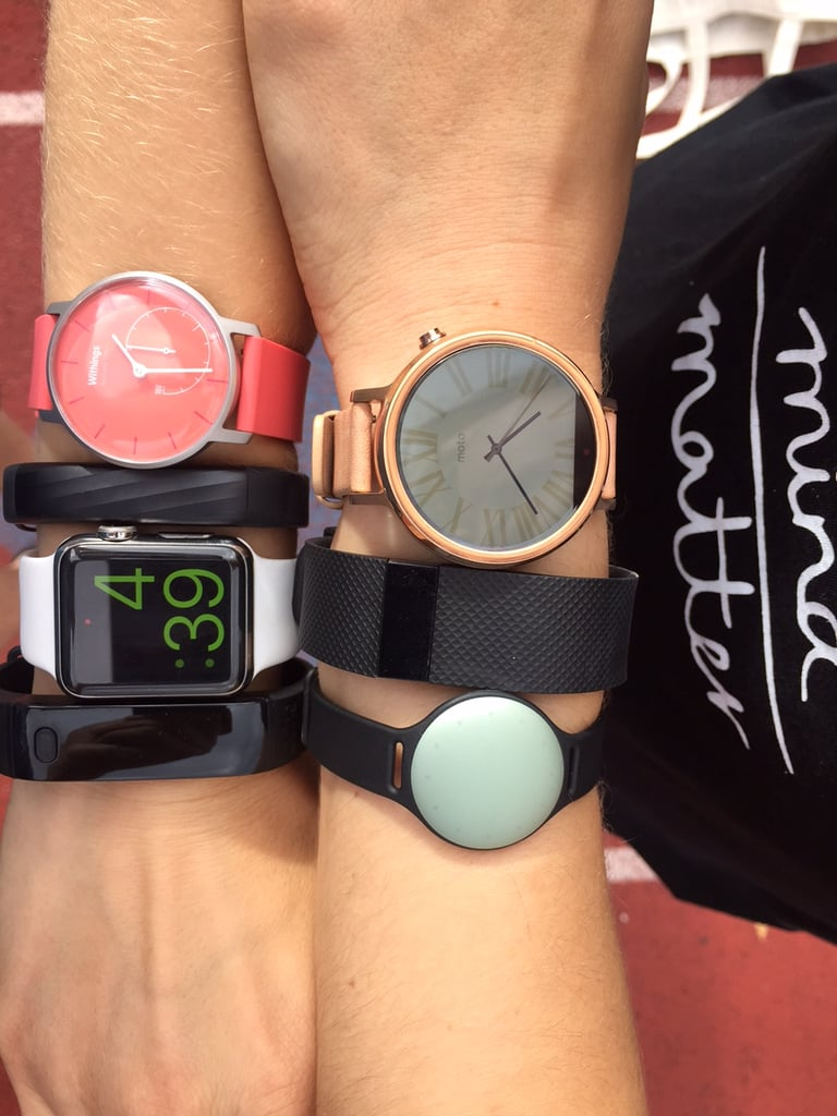 I Tested 7 Different Fitness Trackers — at the Same Time