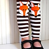 The Trendy Tot Fox Leggings