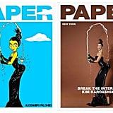 Kim Kardashian as a Simpsons Character