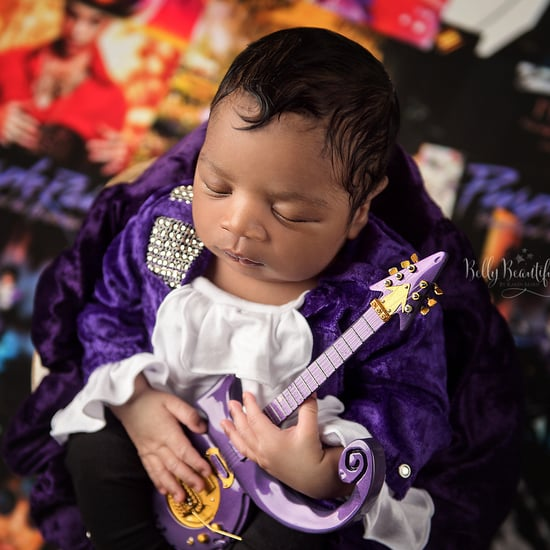 Prince Newborn Photo Shoot