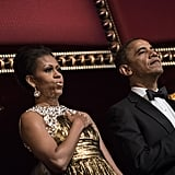 The first couple hosted the Kennedy Center Honors.