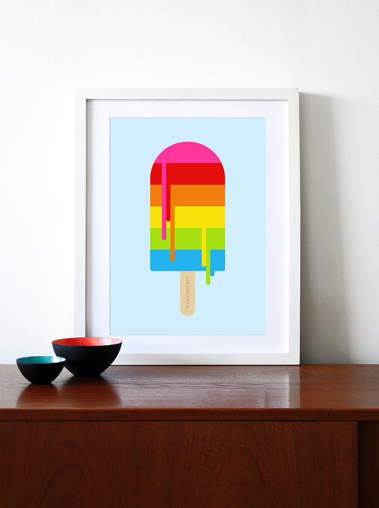 "Nothing screams ""Summer"" like a rainbow popsicle print ($29) they can enjoy all season long."