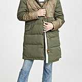 Scotch & Soda/Maison Scotch Mix Fabric Parka