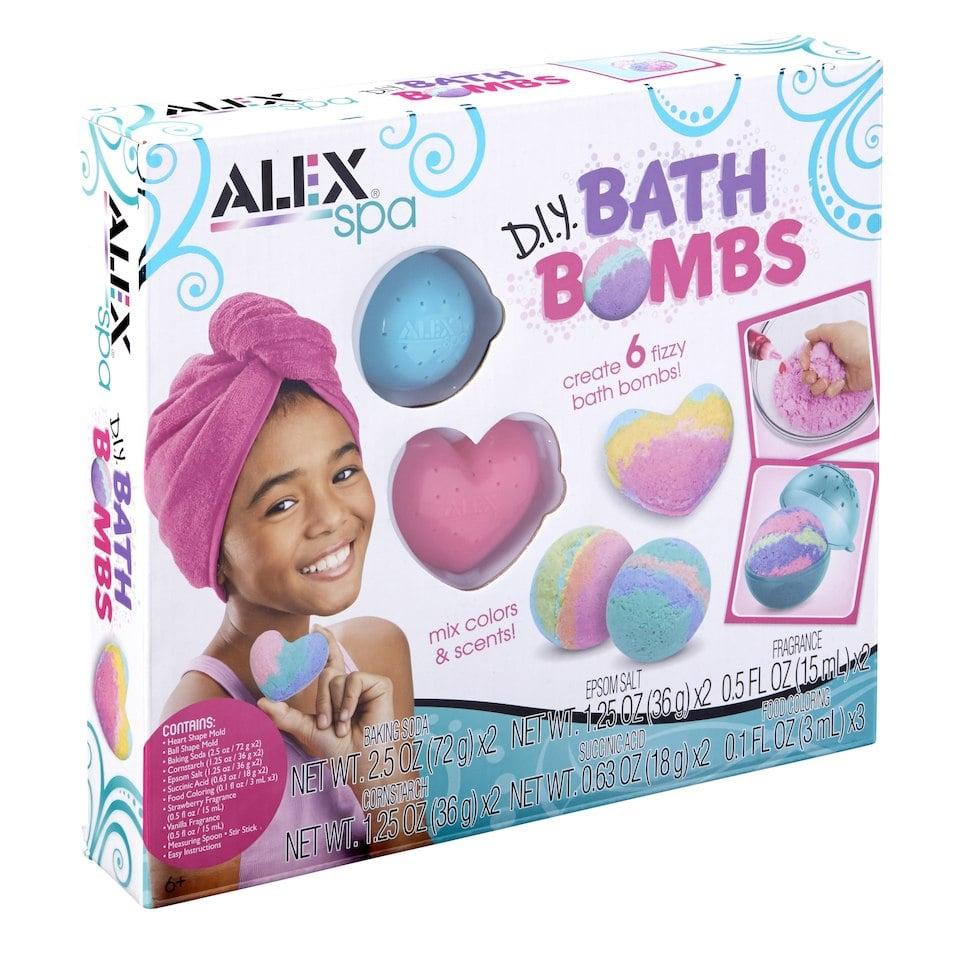 Alex Toys Spa DIY Bath Bombs Kit