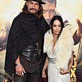Lisa Bonet and Jason Momoa at the Mad Max Premiere