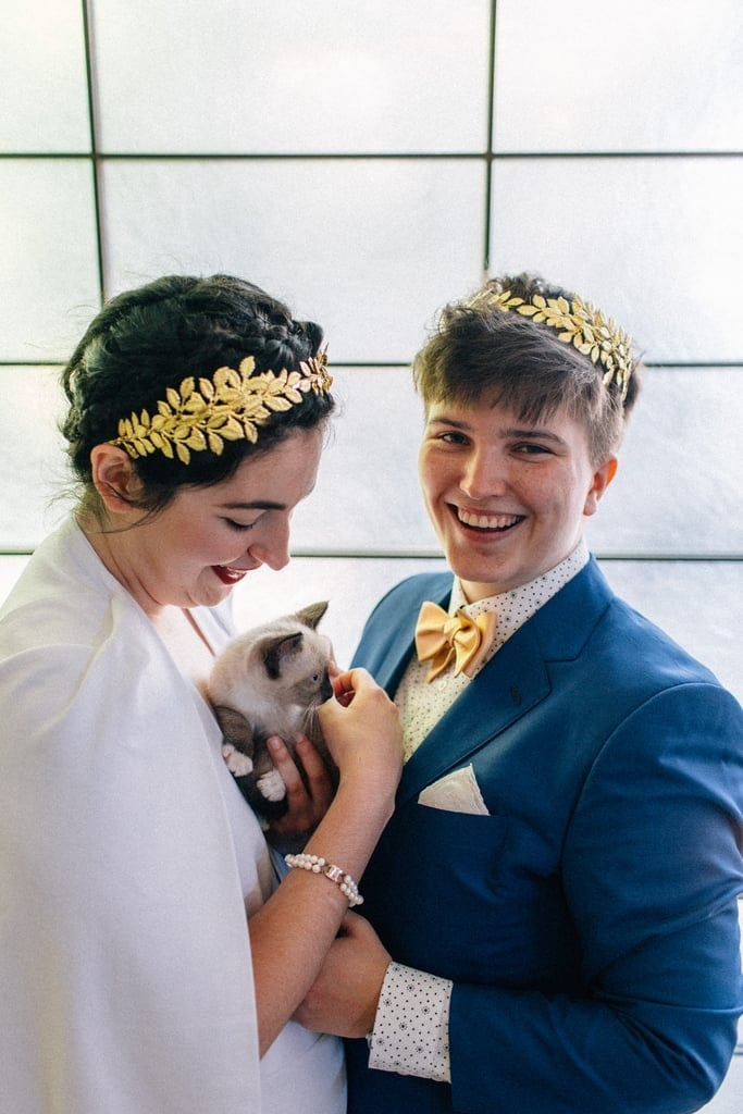 "This Couple Had a ""Kitten Hour"" at Their Wedding, and Yes, It's a Cat Lady's HEAVEN"