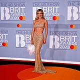 Ashley Roberts Carries a L'alingi Bag on the BRIT Awards Red Carpet