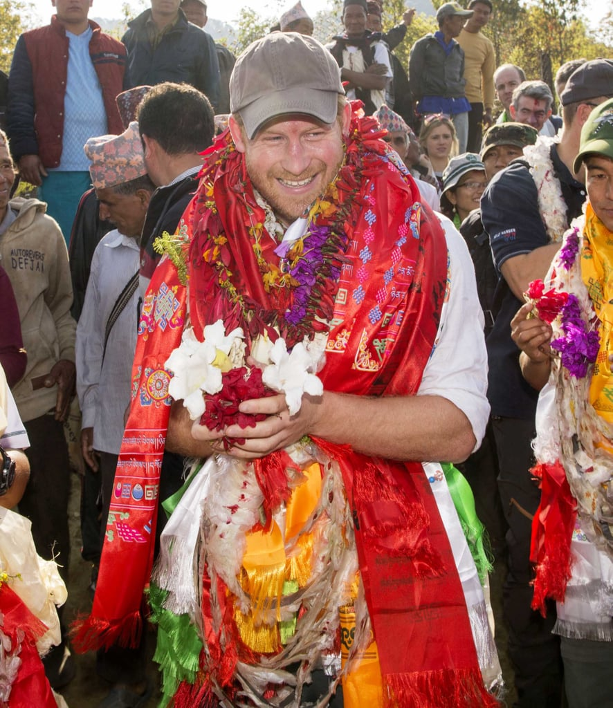 Harry had a blast during his stunning visit to Nepal in March.