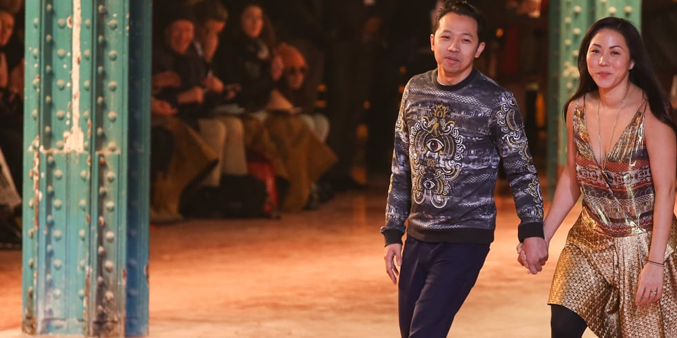 Opening Ceremony NYFW Debut Spring 2014 at Pier 57