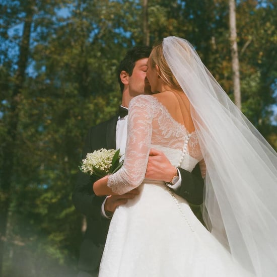 Karlie Kloss's Dior Wedding Dress