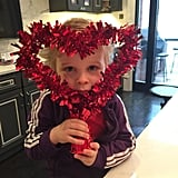 """""""May this heart be with you!"""" David Burtka captioned this snap of Gideon, his son with Neil Patrick Harris."""